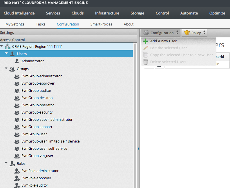 Red Hat CloudForms Overview and Setup (4/6)